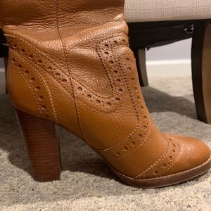 Michael Kors knee high boot tan boots size 35.5